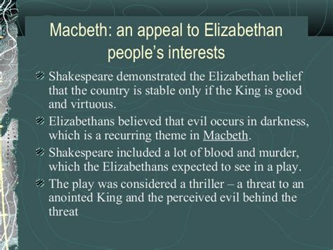 recurring themes in hamlet introduction to macbeth history ppt