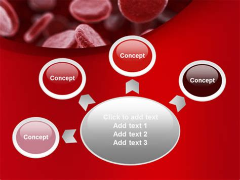rbc cells powerpoint template by poweredtemplate com red blood cells stream powerpoint template backgrounds