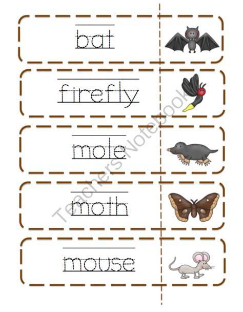 printable nocturnal animal book october 2013 preschool printables