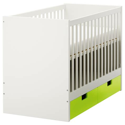 ikea baby schrank stuva cot with drawers green 60x120 cm ikea