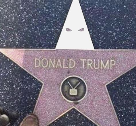 Hoodie Fame Chicago Zc no there s not actually a kkk hoodie trump s walk of fame