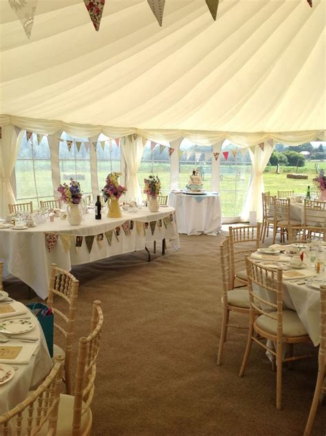 Marquee wedding   love the draping decoration on the roof