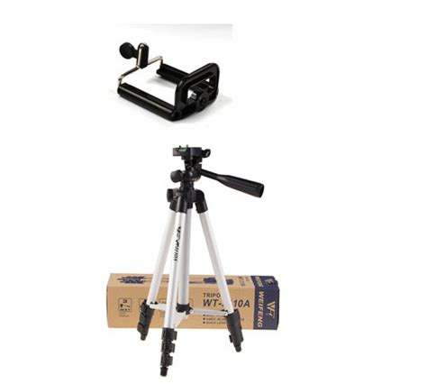 Jual Tripod Weifeng Wt 3110a Free Holder U For Smartphone Hp Kamera Ds 1 2 In1 Weifeng Wt3110a Tf 3110a Tripod With 3 Way