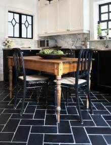 Black And White Kitchen Floor Black And White Tiles Kitchen 2017 Grasscloth Wallpaper