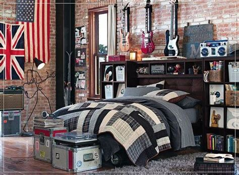 guitar bedroom pb guitar themed bedroom 4 the boys pinterest
