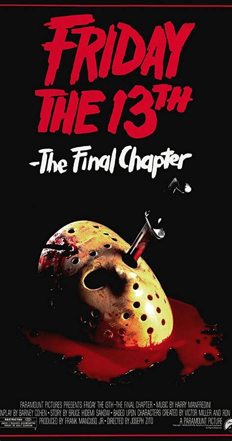 film lawas friday 13th friday the 13th the final chapter 1984 imdb