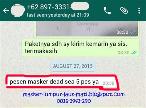 Masker Lumpur Mati agen masker lumpur laut mati masker lumpur laut mati