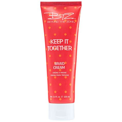 milady hair prevent cream beyond the zone keep it together braid cream