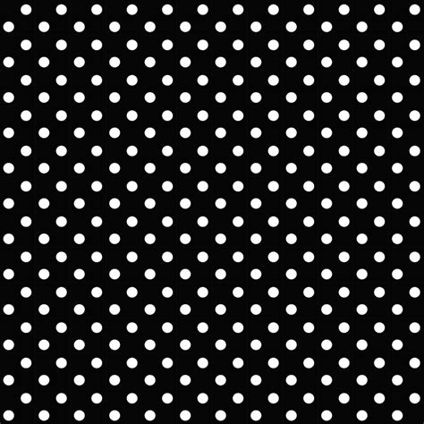 Pola Polka Dot Monochrome polka dot patterns home design