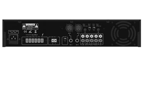 Mixer Audio Bma a low cost mixer lifier