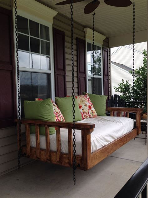 porch swing bed mattress turned an old twin mattress into the best couch bed swing