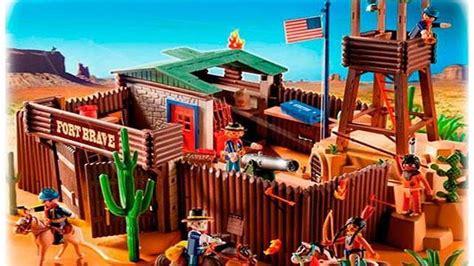 imagenes de fuertes de juguete el fuerte del oeste de playmobil mejor juguete del verano