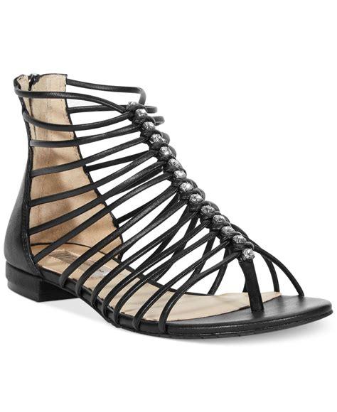 black flat gladiator sandals inc international concepts womens avah flat gladiator