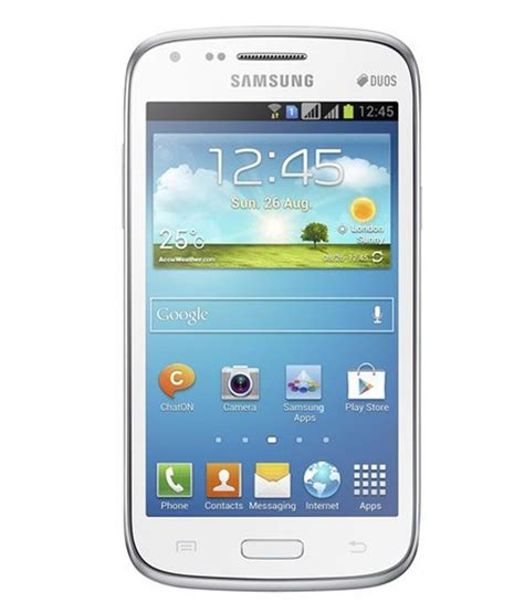 Handphone Samsung Galaxy I8262 samsung galaxy gt i8262 8gb white mobile phones