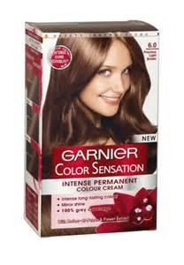 garnier color garnier color sensation hair colour 6 0 precious