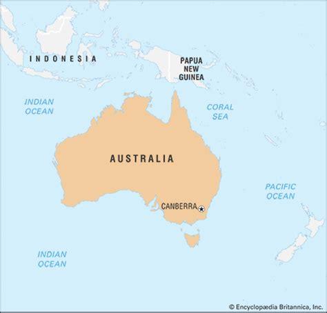 map of australia oceans australia britannica