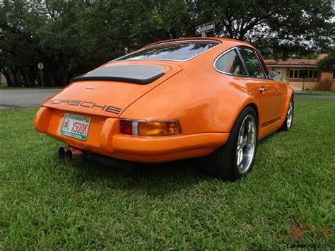 1973 rsr porsche 1973 porsche 911 964 rs rsr custom modern look