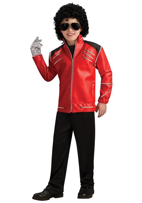 Michael Jackson Costumes Up For Auction by Child Beat It Michael Jackson Jacket