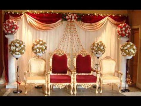 Wedding stage decoration   YouTube