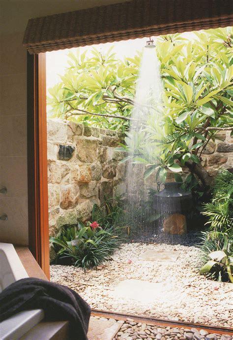 stunning outdoor shower spaces     urban