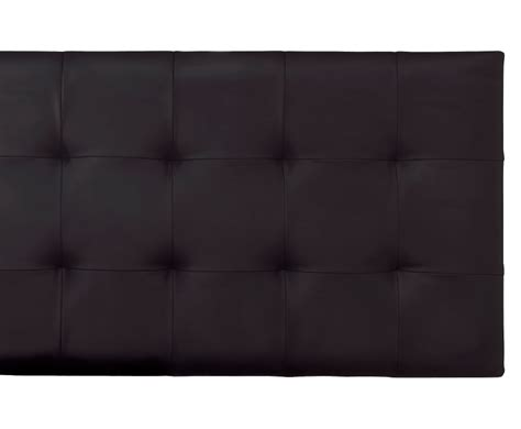 Black Leather Headboard Romeo Black Faux Leather Headboard Just Headboards