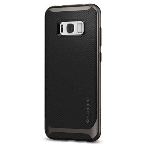 Casecovercasing Untuk Samsung S8 Spigen Black spigen neo hybrid samsung galaxy s8 plus gunmetal mobilezap australia