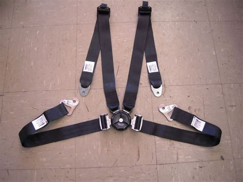 aviation safety seat belts amsafe aircraft pilot vehicle 4 point restraint