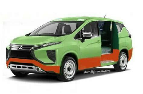 Galeri Poto Mobil Angkot Modifikasi by Foto Rekayasa Mitsubishi Xpander Jadi Angkot Netizen