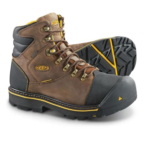 keen work boots for keen utility s milwaukee waterproof steel toe work