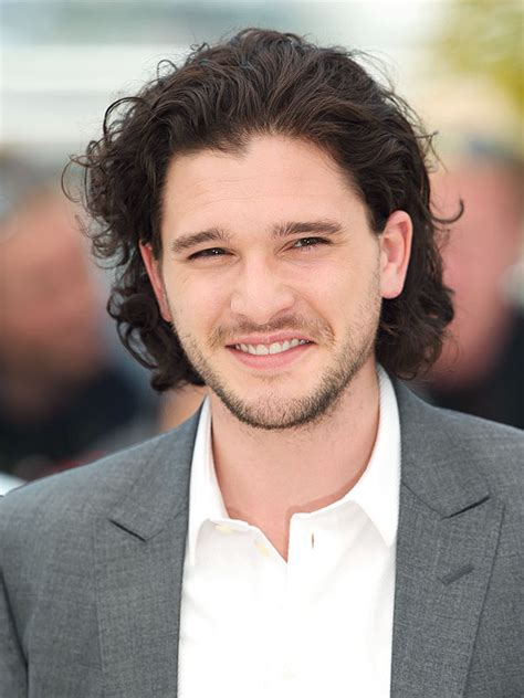 Hair Style Kit Name by Kit Harington Of Thrones My Jon Snow Hair Has A