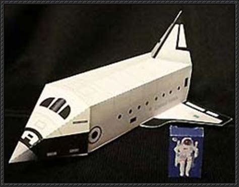 Space Papercraft - papercraft for simple space shuttle free template
