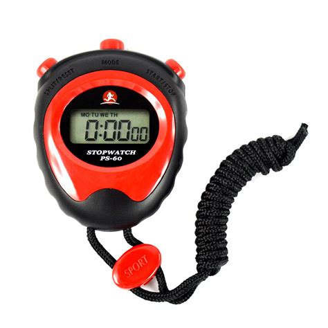 Stopwatch Digital Yasaka Y 009 Stopwatch Stop Digital Lcd Professional Chronograph