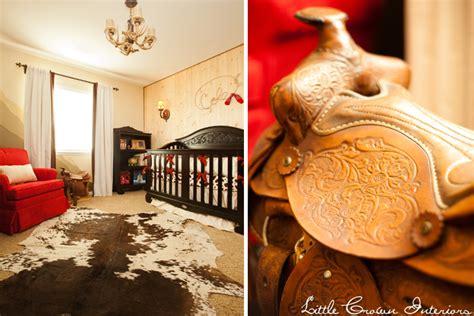 Western Baby Nursery Decor Western Themed Nursery By Crown Interiors