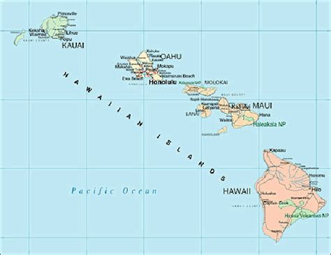 map hawaii hawaii map vacation idea