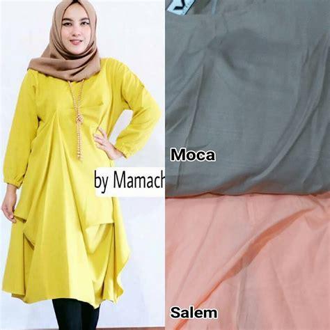 Tunik Rajut Baju Wanita Knms baju muslim modern silviya tunik grosir baju muslim
