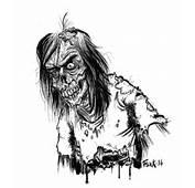 Zombie  Flock Dessin Cr&233tin