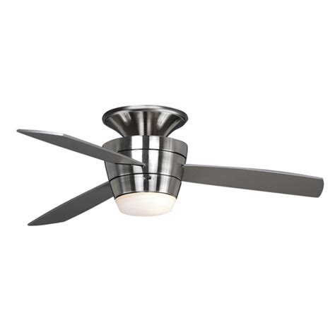 allen and roth outdoor ceiling fan allen roth 44 inch mazon brushed steel ceiling fan at