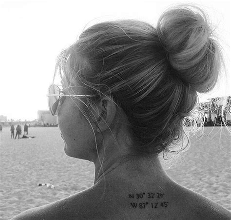 tattoo inspiration nacken 17 best ideas about coordinates tattoo on pinterest