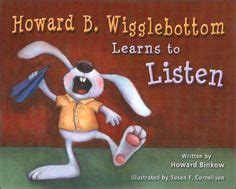 luka learns about being a listener book two of the series books 1000 images about howard b wigglebottom on