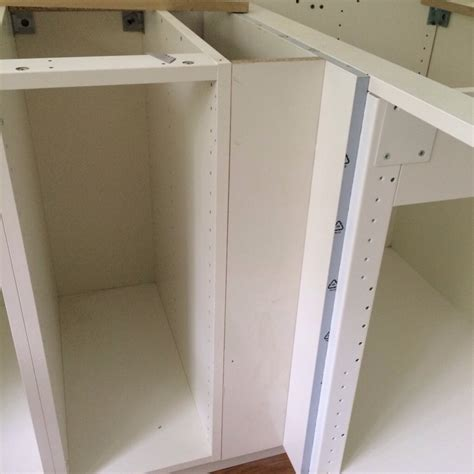 how to install a cabinet filler fillers and ikea hacks eighty two lafayette