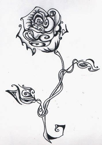 free rose tattoo designs iokoio designs free