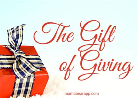 And Give The Gift Of by The Gift Of Giving Quotes Quotesgram