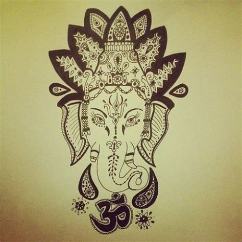 elephant god tattoo 17 best images about ganesh on hindus ganesha