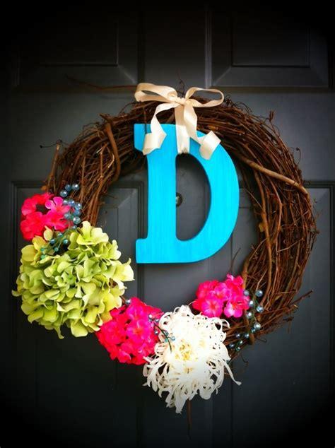 wreath   front door  spring diy wreath