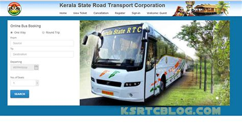 kerala ksrtc ticket booking official 28 images ksrtc