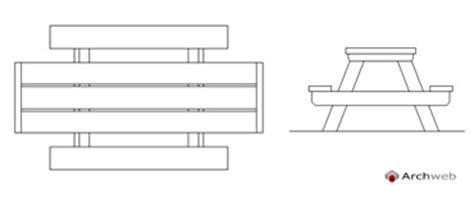arredi 2d tavoli giardino dwg 2d