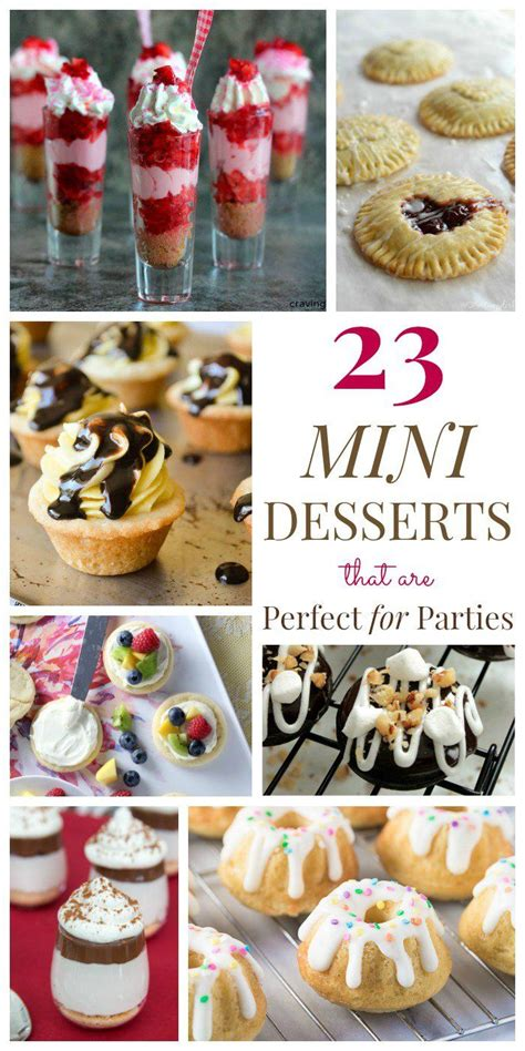 desserts for parties 25 best ideas about mini desserts on