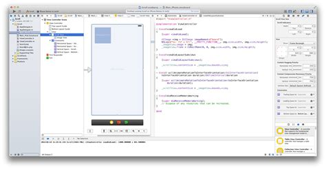Landscape Xcode Uiscrollview Does Not Scroll In Landscape Mode Test C