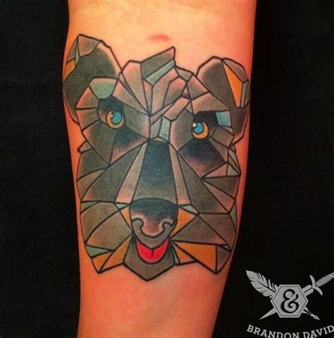 geometric tattoo kansas city 1000 images about schnauzer on pinterest folk art