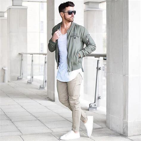 Jaket Bomber Scoot jacket bomber jacket khaki disick menswear mens